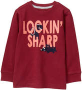 Gymboree Burgundy 'Lookin' Sharp' Tee - Infant