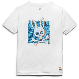 Psycho Bunny Boys' Bunny Waves Tee - Little Kid, Big Kid