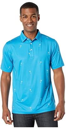Straight Down Bull's Polo (Voodoo) Men's Clothing