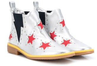 Stella Mccartney Kids Star Print Boots
