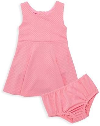 Kate Spade Baby Girl's Vivian 2-Piece Textured Flare Dress & Bloomers Set