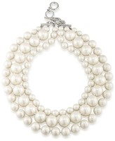 """Carolee Beaded Necklace, 17"""""""