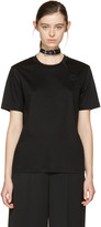 Carven Black Choker T-shirt