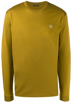 Acne Studios long sleeve cotton T-shirt