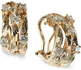 Effy D'Oro by Diamond Vine Earrings (5/8 ct. t.w.) in 14k Gold