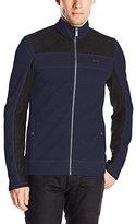 Calvin Klein Men's L/S Full Zip Color Blocked Sweatshirt