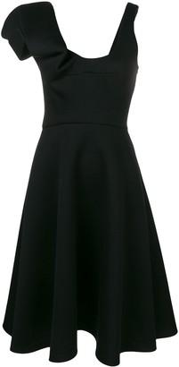 Chalayan asymmetric A-line dress