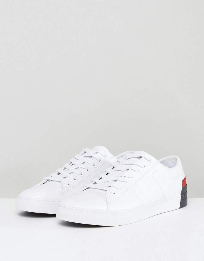 Tommy Hilfiger Jay Leather Sneakers In White