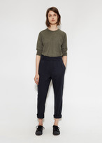 Mhl By Margaret Howell Cinched Crop Trouser