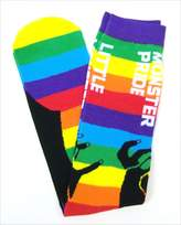 Bravado Lady Gaga Born This Way Ball 2012-13 Monster Pride Rainbow Socks