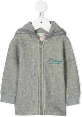 Bonpoint logo detail hoodie