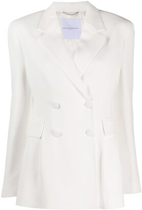 Ermanno Scervino Double-Breasted Fitted Blazer