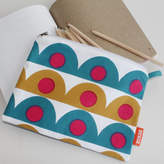 Sukie Pencil Case With Scallop Design