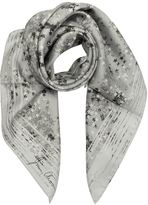 Jimmy Choo Stars Printed Silk Square Scarf