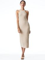 Thumbnail for your product : Alice + Olivia Lulu Halter Neck Midi Dress