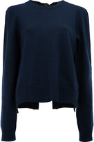 Céline - lace up rear cardigan -