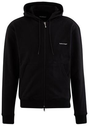 Balenciaga Zipped Hooded Sweatshirt