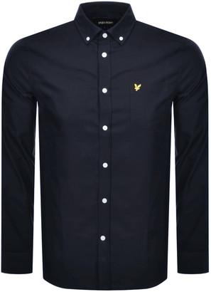 Lyle & Scott Oxford Long Sleeve Shirt Navy