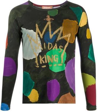 Vivienne Westwood Midas King Long-Sleeved Top