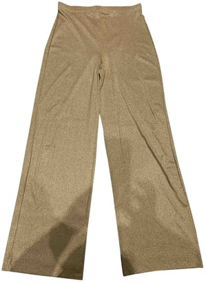 Louise Kennedy Gold Trousers for Women