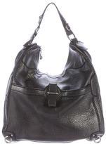 Alexander McQueen Metallic Leather Hobo