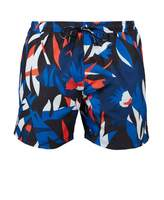 Boss Bodywear BOSS Bodywear Batfish Printed Floral Swim Shorts Colour: Blues, Size: