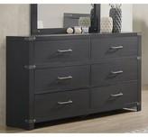 Millie 6 Drawer Double Dresser Williston Forge