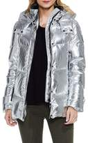 Vince Camuto Metallic Down Coat