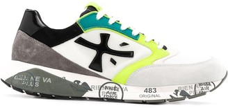 Premiata Zac Zac panelled sneakers