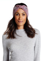 David & Young Embellished Knit Head Wrap