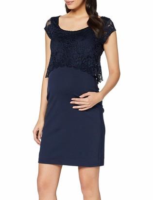 Mama Licious Mamalicious Women's Mlblackie Lace June Cap Dress Nf