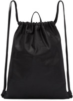 Pb 0110 Black Ab 18 Drawstring Backpack