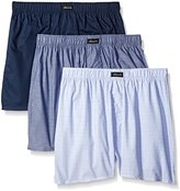 Kenneth Cole New York Men's 3-Pack Denim Woven Boxers