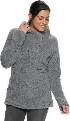 ZeroXposur Women's Asymmetrical Zip Sherpa Jacket