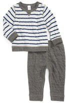 Nordstrom Infant Boy's Reversible Double Knit T-Shirt & Pants Set
