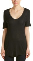 The Kooples Chain-neck T-shirt.