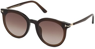 Tom Ford 63MM Round Sunglasses