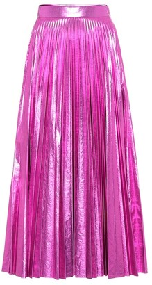 Christopher Kane Metallic maxi skirt