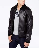Armani Exchange Men's Faux-Shearling Full-Zip Jacket
