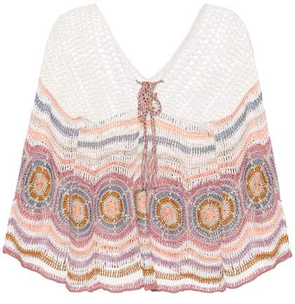 Anna Kosturova Carly crocheted cotton top