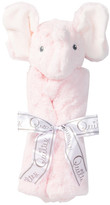 Quiltex Plush Pink Elephant Security Blanket