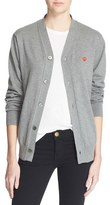 Comme des Garcons Women's Cotton Cardigan