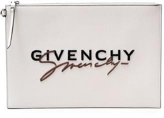 Givenchy Signature Logo Clutch Bag