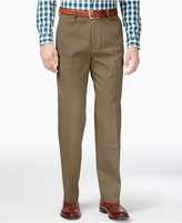 Haggar Men's Big & Tall Classic-Fit Premium Non-Iron Comfort-Waist Pants