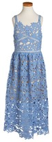 Trixxi Girl's Floral Lace Dress