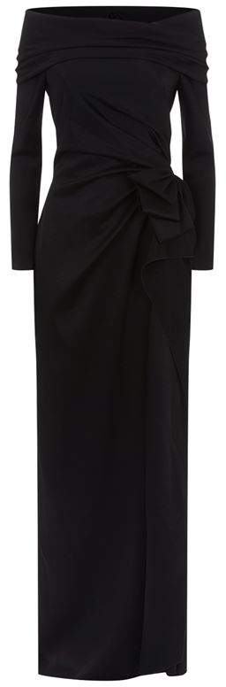 Paule Ka Off Shoulder Gown