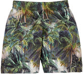 Molo Kids Palm-Tree-Print Swim Trunks
