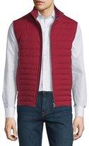 Ermenegildo Zegna Trofeo Wool Elements Quilted Vest