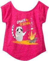 Roxy Girls' S'more Friends S/S Tee (2yrs6X) - 8132831