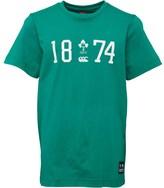 Canterbury of New Zealand Junior Ireland Established T-Shirt Bosphorus
